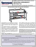 Industrial Workbench with Steel Top (1291010)