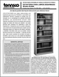 Bookcase - Model B8400 Spanish (15504995)