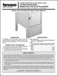 Locker Front Base - Models FB-12, 15, 18 & 24 (1630404)