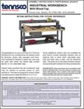 Industrial Workbench with Wood Top (2230410)