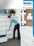Lateral, Vertical and Fixed Shelf Filing brochure