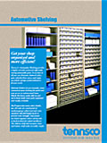 Automotive Shelving brochure