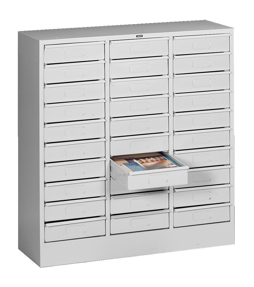 Tennsco - Storage Made Easy - 30 Drawer Organizer - Letter Size