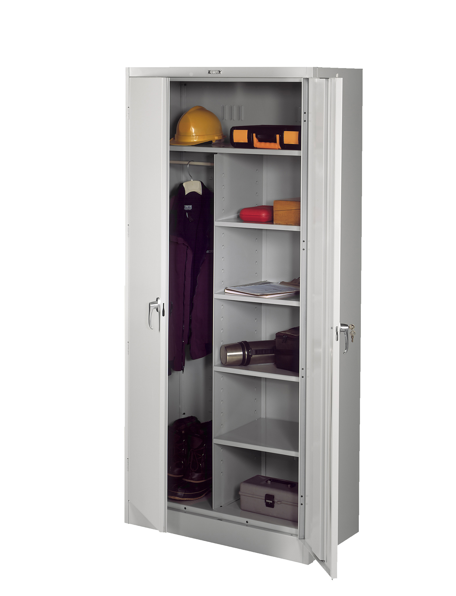 Tennsco - Storage Made Easy - Deluxe Combination Cabinet (Unassembled)