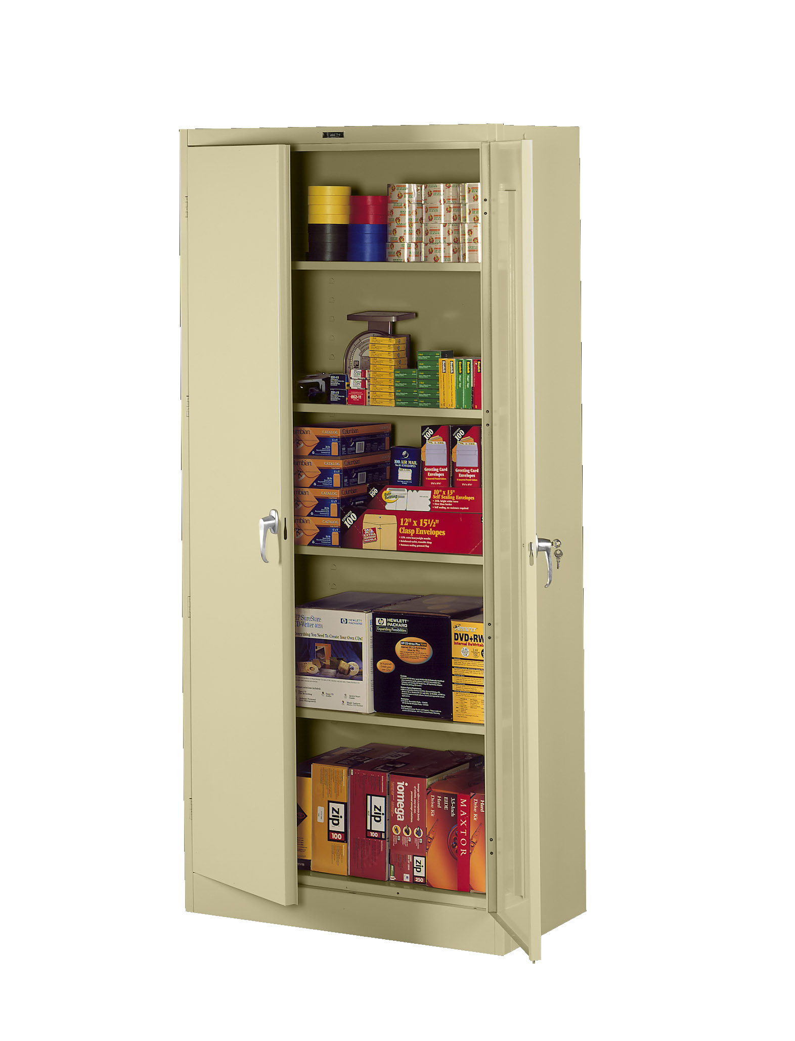 Download Product Image ...  sc 1 st  Tennsco & Tennsco - Storage Made Easy - Deluxe Storage Cabinet (Assembled)