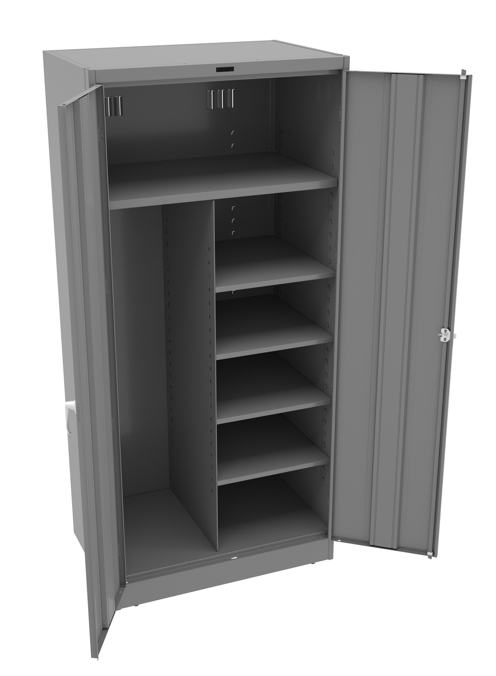 Tennsco - Storage Made Easy - Deluxe Combination Cabinet (Welded)