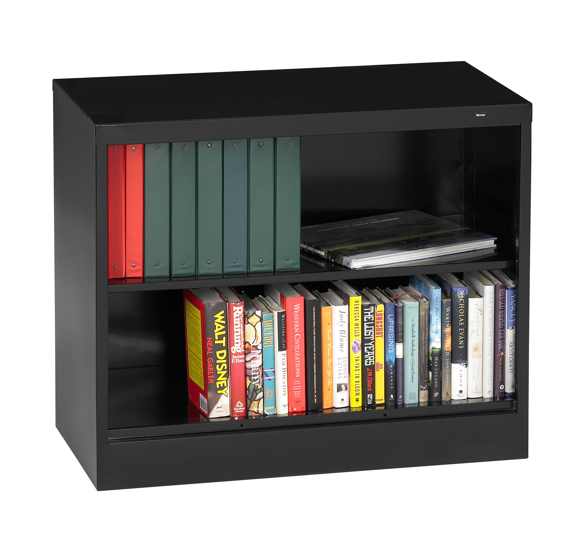 Tennsco Storage Made Easy 18 Quot Deep Welded Bookcase 30 Quot High