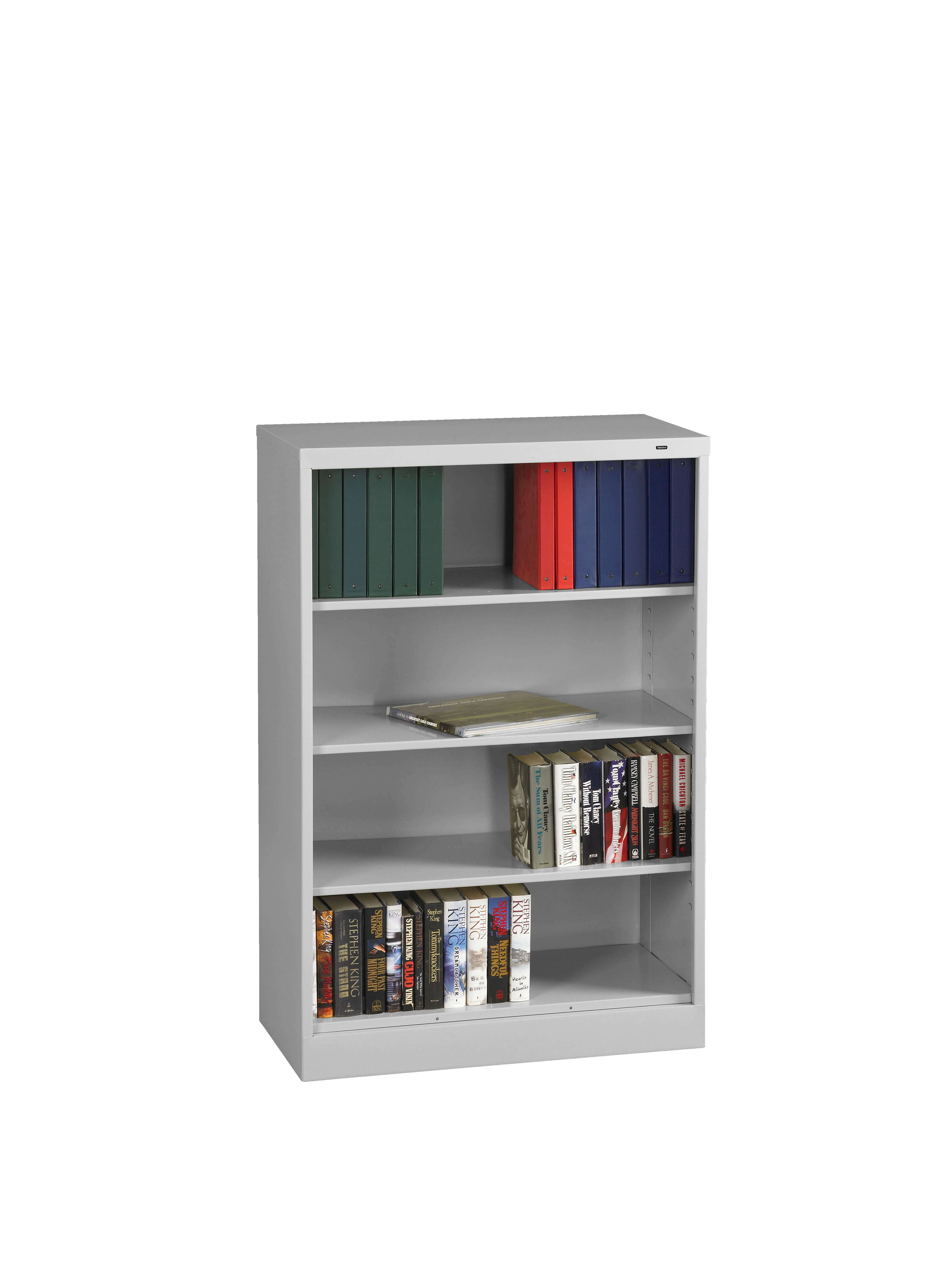 #A62D25 Tennsco Storage Made Easy 18 Deep Welded Bookcase 55 High with 4080x5440 px of Recommended Deep Shelves Bookcase 54404080 save image @ avoidforclosure.info