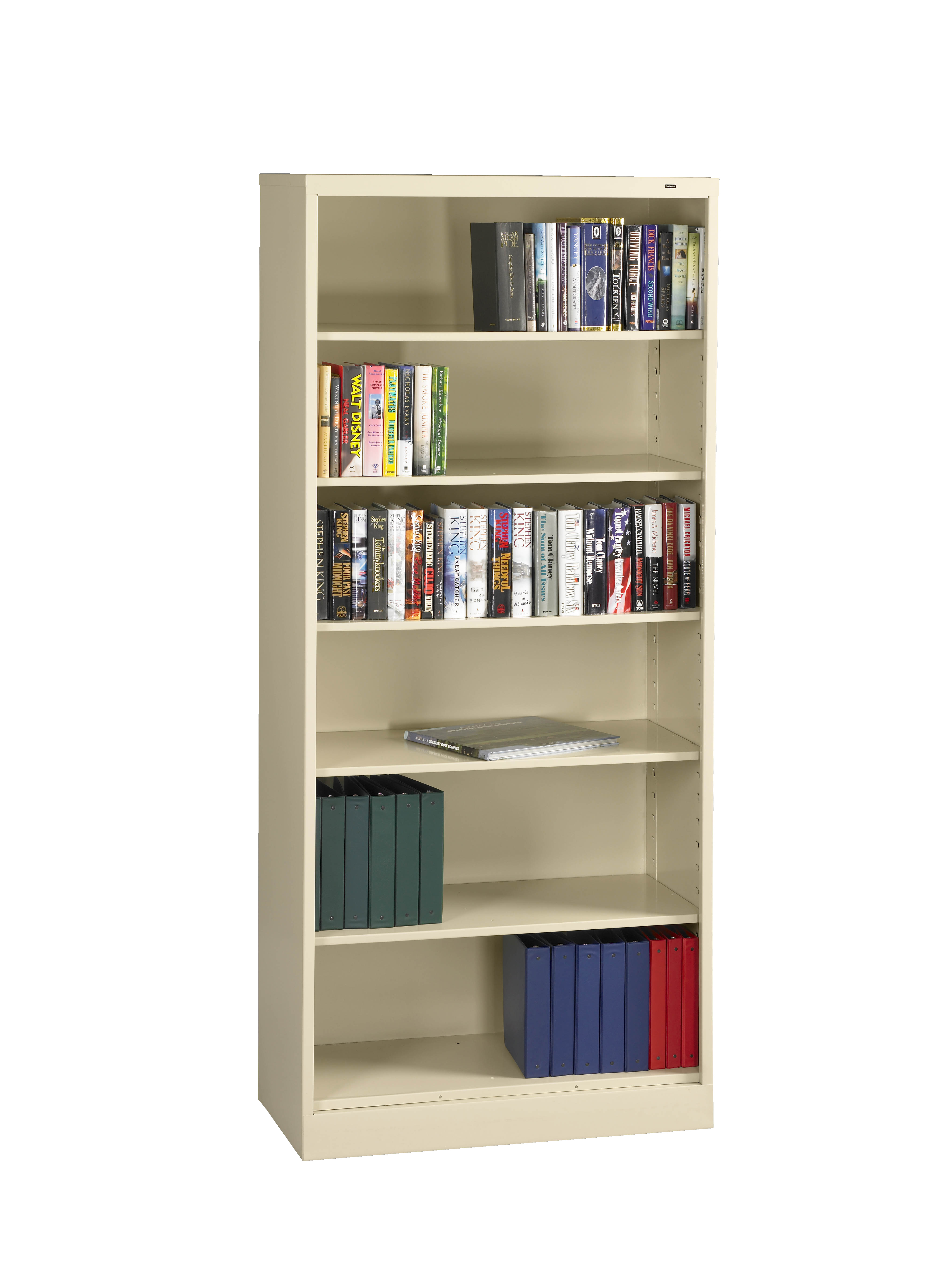 Tennsco Storage Made Easy 18 Quot Deep Welded Bookcase 84 Quot High