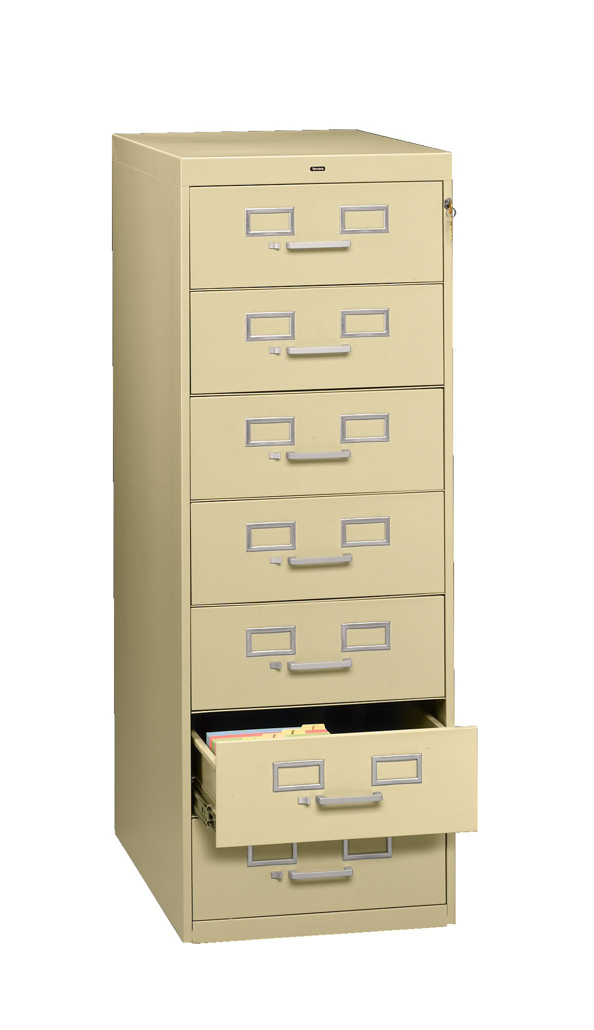Tennsco - Storage Made Easy - 7 Drawer Card File