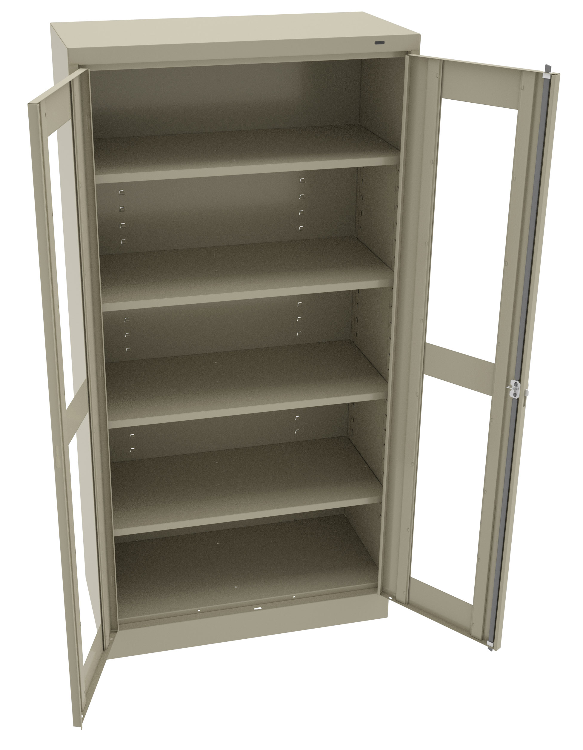 Tennsco - Storage Made Easy - Standard Storage Cabinet with C-Thru ...