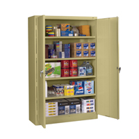 Jumbo Storage Cabinet (Unassembled) 48 w x 18 d x 78 h Model # J1878A-N View Product + add to Wish List - remove from Wish List  sc 1 st  Tennsco & Tennsco - Storage Made Easy - Search By: Jumbo Storage Cabinets