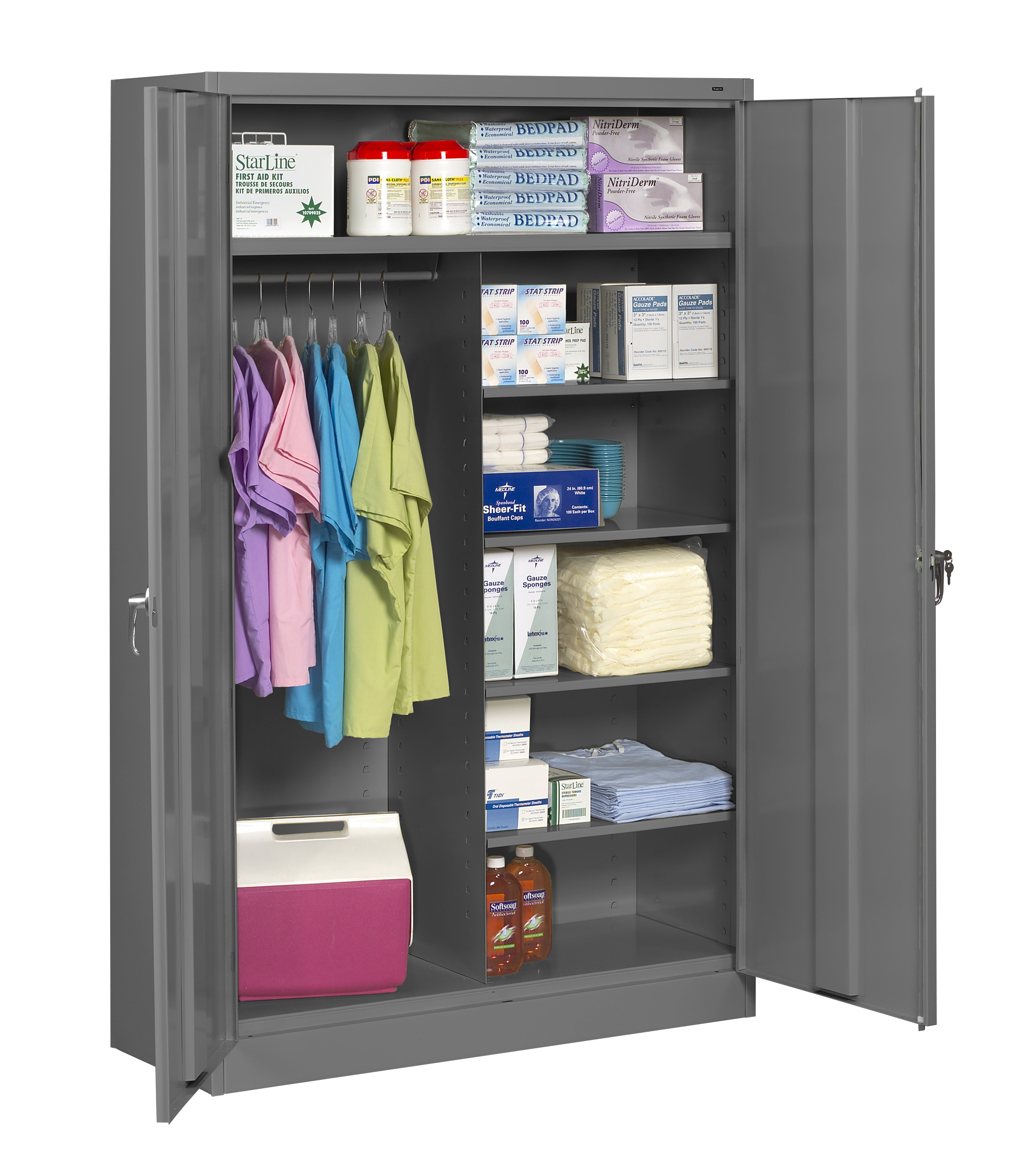 Tennsco Storage Cabinet Heavy Duty 78 High