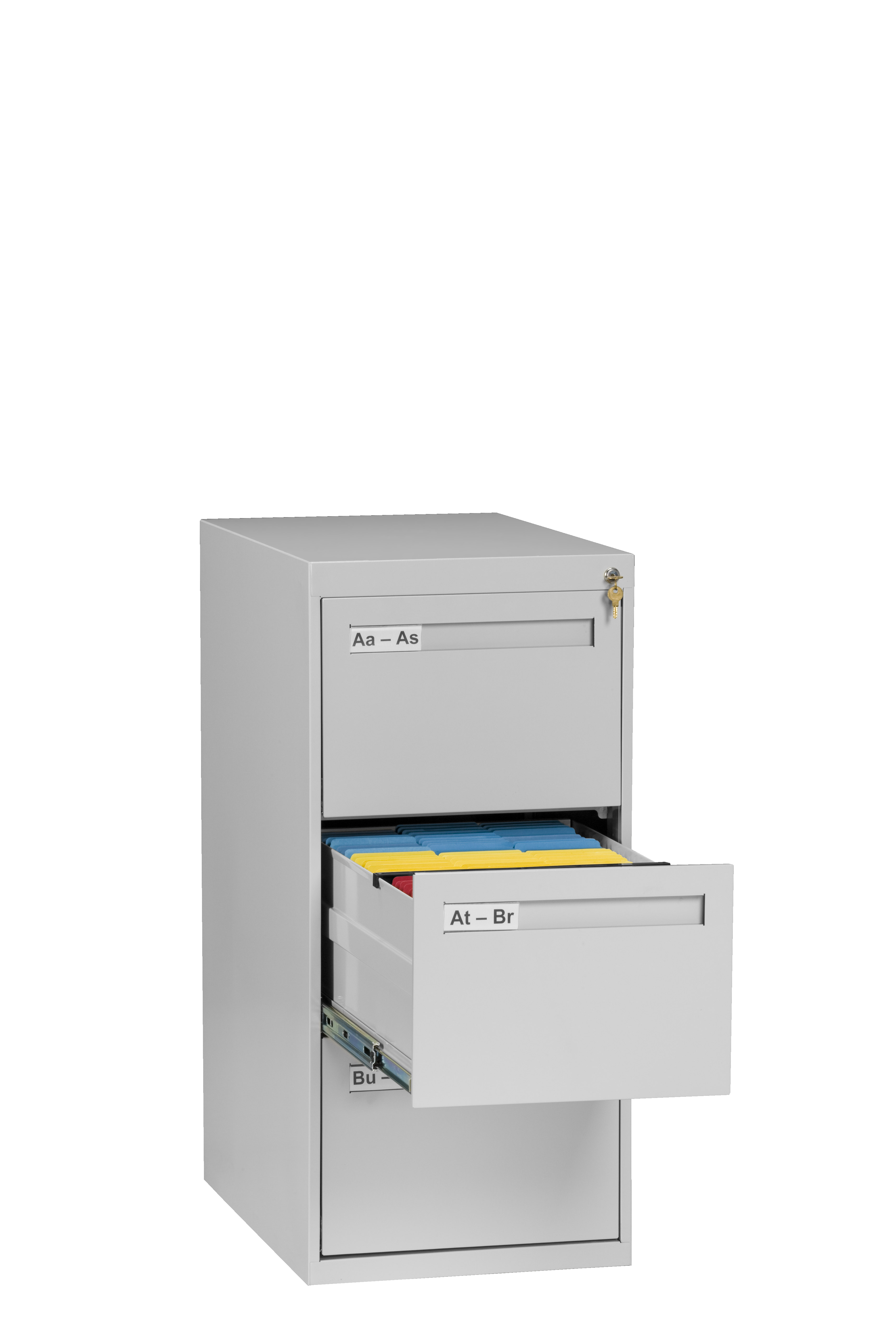Tennsco Storage Made Easy 3 Drawer Vertical File Legal Size